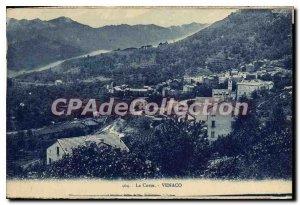 Old Postcard Corsica Venaco