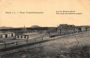 Bitsch Neuer Truppenubungsplatz Panorama General view Postcard