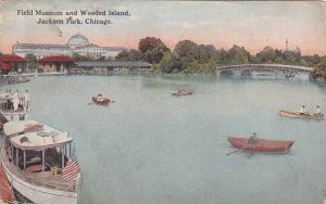 Illinois Chicago Field Museum And Wooded Island Jackson Park 1914