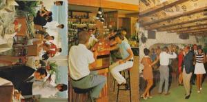 Lyons Tours Are Fun 3x Restaurant Dancing Postcard