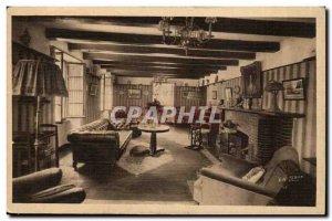 Verniaz s Evian Old Postcard The lounge