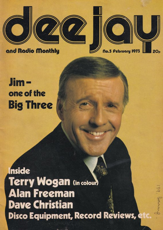 Dee Jay Jimmy Young Alan Freeman Rare DJ Radio 1 Magazine