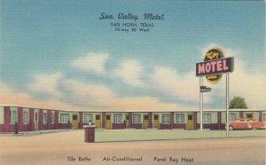 VAN HORN , Texas , 30-40s ; Sun Valley Motel