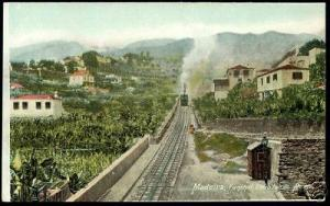 portugal, MADEIRA, Funchal Elevador do Monte 1910 Train