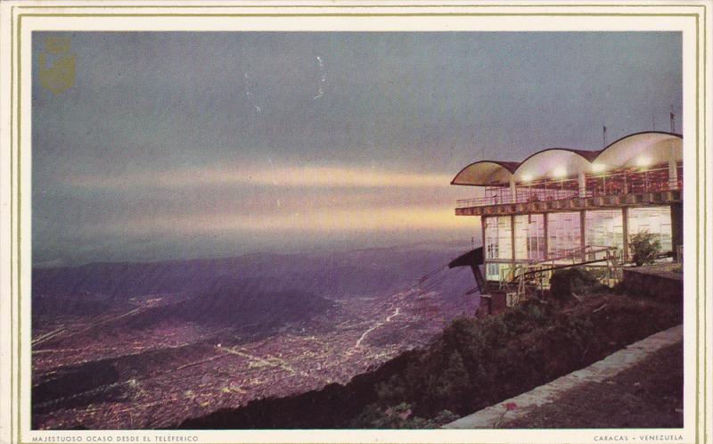 Sunset View From the Cable Car, CARACAS, Venezuela, 40-60´