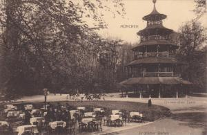 Englischer Garten, Chinesischer Turm, Munchen, Germany, 1900-10s