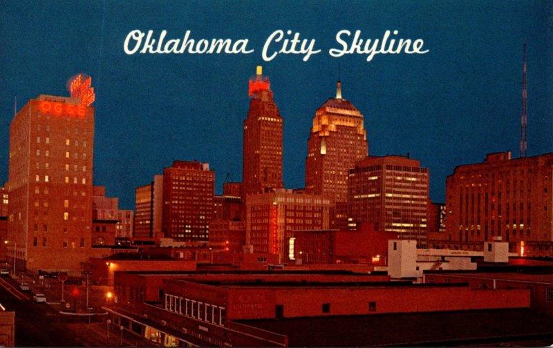 Oklahoma Oklahoma City Skyline