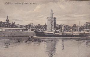 Spain Sevilla Muelle y Torre del Oro