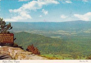 Virginia Shenandoah National Park Skyline Drive 1989