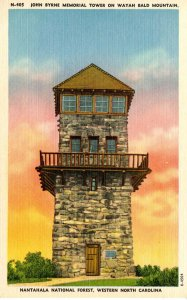 NC - Nantahala Nat'l Forest. John Byrne Memorial Tower