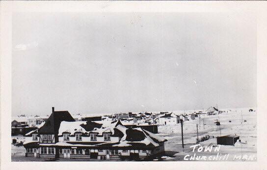 RP; Town , CHURCHILL , Manitoba , Canada , 30-40s