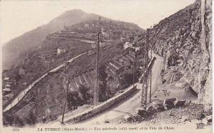 Vue Generale (Cote Nord) Et La Tete De Chien, La Turbie (Alpes Maritimes), Fr...