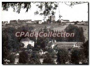 Modern Postcard Semur en Brionnais The S and The Chateau de la Vallee and gen...