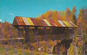 Covered Bridge Famous In Picture And Story Are Vermonts UniqueCovered Birdges...