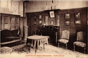 CPA  Avranches - Institution St-Joseph d'Avranches - Grand Parloir  (632843)