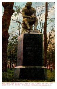 Rhode Island Roger William´s Park Pancrat R Ast Monument