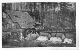 Birmingham Alabama Old Mill Real Photo Antique Postcard K40210