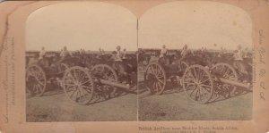 SV: Boer War ; SOUTH AFRICA , British Artillery near Modder River
