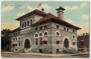Post Office, Lewiston ME