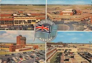 BR88506 london airport aeroport uk car voiture  plane airplane avion