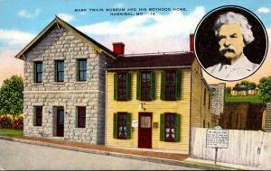 Missouri Hannibal Mark Twain Museum and His Boyhood Home