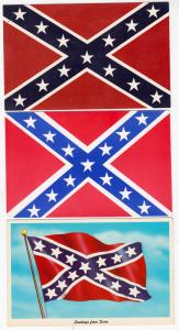 3 - Confederate State Flags