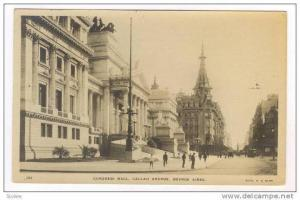 RP: Congress Hall, Callao Avenue, Buenos Aires, Argentina, PU-1908