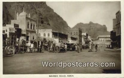 Aden Republic of Yemen Maiden Road Aden Maiden Road