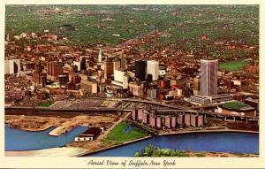 NY - Buffalo.  Aerial View, 1970's