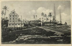 venezuela, MAIQUETIA, Estación Inalámbrica, Wireless Radio Station, Train 1930s