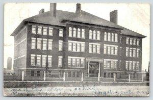 Virginia Minnesota~Roosevelt High School~Josephine Has a Cute Beau~1910 B&W PC