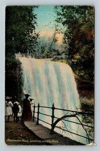 Laughing Water MN-Minnesota, Minnehaha Falls, Vintage Postcard