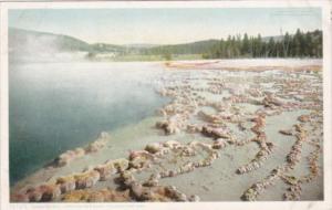 Sapphire Pool Upper Geyser Basin Yellowstone National Park Detroit Publishing