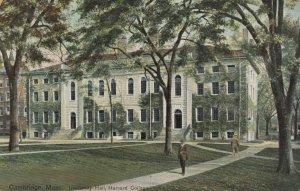 CAMBRIDGE , Mass. , 1910 ; University Hall , Harvard College