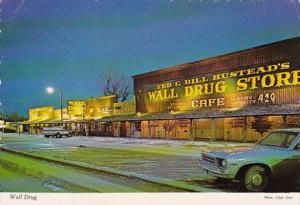 South Dakota Wall The Wall Drug Store At Night