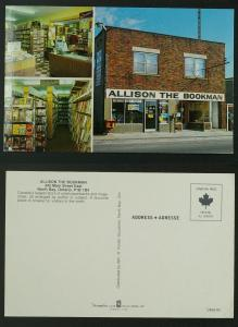 Allison The Bookman North Bay Ontario (1970s, 80s?)