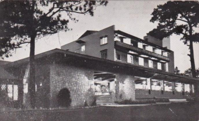 Philippines Baguio City Night View Of Baguio Country Club 1962 Real Photo