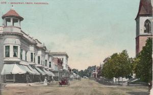 CHICO , California , 1914 ; Broadway