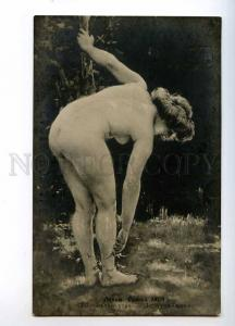 244642 NUDE Nymph by DELACROIX Vintage SALON 1909 year PC