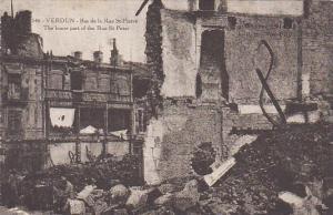 France Verdun Bas de la rue St Pierre