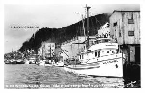 KETCHIKAN, ALASKA KETCHIKAN ALASKA SEINERS  RPPC REAL PHOTO POSTCARD