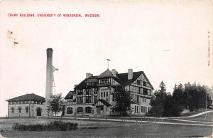 Dairy Building, University of Wisconsin, Madison, WI, Postcard, Used in 1910