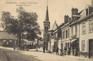 France Picquigny La Rue de Saint Pierre L'Hôpital Hospice 03.37