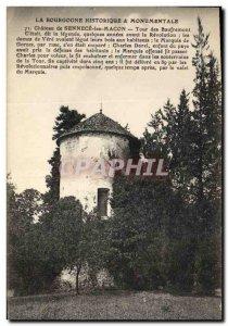 Old Postcard Chateau de Sennece Les Macon