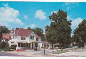 The Town House Court Motel, HOT SPRINGS, Arkansas, PU-1969