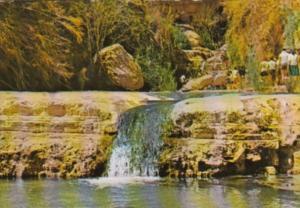 Israel Ein-Gedi Landscape At Nachal Arugot