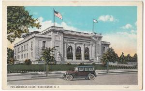 Pan-American Union, Washington, DC, 1910s-20s unused Postcard
