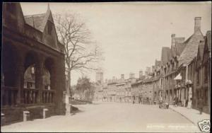 gloucs, CHIPPING CAMPDEN, Street Scene (1910s) RPPC
