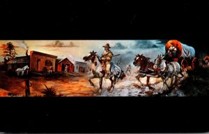North Dakota Jamestown Oil Painting By J A Kirkpatrick At Hawkins Drug Store