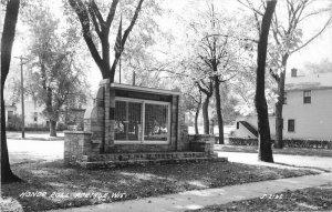Portage Wisconsin Honor Roll #J-2125 1940s RPPC Photo Postcard 21-6973